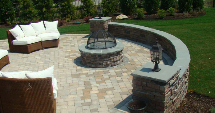 Thinking Of Building A Stone Patio Long Island Masonry Contractor - Stone patio design
