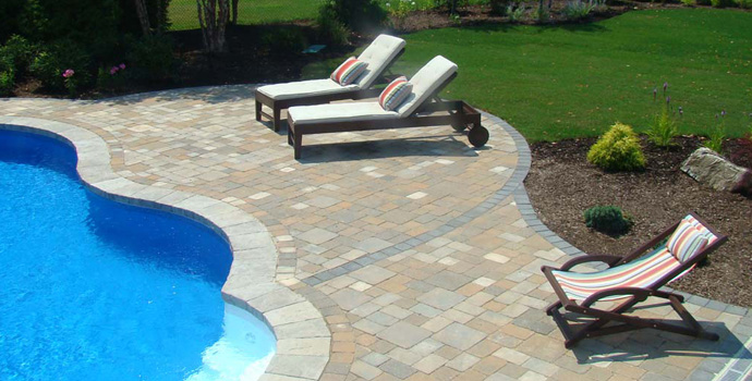 Long island masonry pool design patio contractor new york for Pool design mistakes
