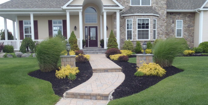 custom landscape - Beautiful Landscapes For Houses